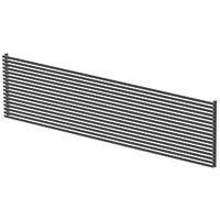 Moretti Tuba Radiator 595 x 1200mm Matt Charcoal