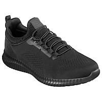 Skechers Cessnock Metal Free  Non Safety Shoes Black Size 8