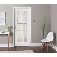 Jeld-Wen  15-Clear Light Primed White Wooden 15-Panel Internal Door 1981 x 686mm