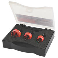 Armeg Acceler8 Sheet Steel Holesaw Set 3 Pieces