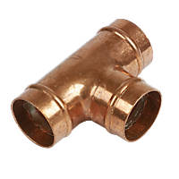 Yorkshire  Copper Solder Ring Equal Tee 28mm