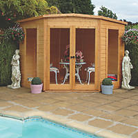 Shire Barclay Corner Summerhouse 2.99 x 2.99m