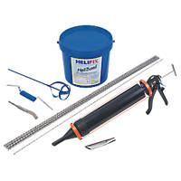 HeliFix Crack Stitching Kit Grout 300mm x 1.04m