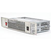 TCP UPH201SS Plinth-Mounted Fan Heater Silver 2kW 500 x 100mm