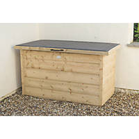Forest Shiplap Garden Storage Box 3' 6 x 1' 10 x 2' 1""