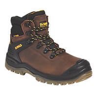 DeWalt Newark   Safety Boots Brown Size 8