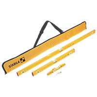 Stabila  Spirit Level Set 4 Pieces