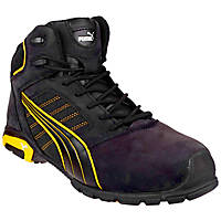 Puma Amsterdam Mid   Safety Boots Black Size 10.5
