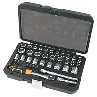 "Magnusson 3/8"" Standard Socket Set 40Pcs"