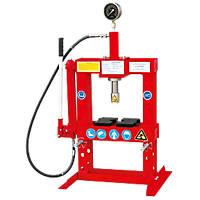 Hilka Pro-Craft 10-Tonne Bench Top Shop Press 590mm x 4ga