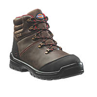 Dickies Cameron   Safety Boots Brown Size 11