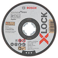 "Bosch X-Lock  Cutting Disc 5"" (125mm) x 1 x 22.23mm 10 Pack"