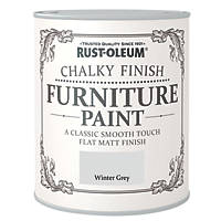 Rust-oleum Universal Furniture Paint Chalky Winter Grey 750ml