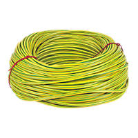 CED Green/Yellow Sleeving 6mm x 100m