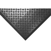 COBA Europe Comfort-Lok Anti-Fatigue Floor End Mat Black 0.8 x 0.7m