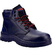 Centek FS317C Metal Free  Safety Boots Black Size 7