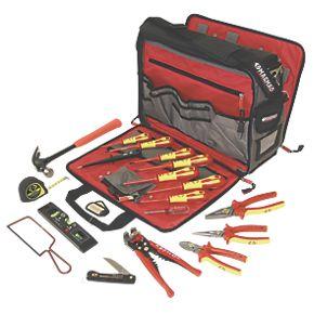 ck electricians premium tool kit bag hand tool kits. Black Bedroom Furniture Sets. Home Design Ideas