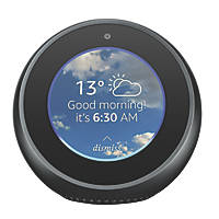 Amazon Echo Spot Voice Assistant with Screen Black