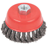 Twisted Knot Wire Cup Brush 100mm