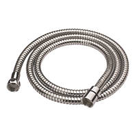 Cooke & Lewis Shower Hose Chrome 5.5mm x 1.75m