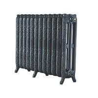 Arroll  3-Column Cast Iron Radiator 760 x 994mm Pewter 5896BTU