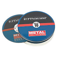 Erbauer Metal Cutting Discs 115mm Pack of 10