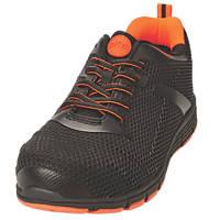 Site Donard   Safety Trainers Black / Orange Size 11