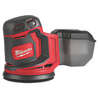 Milwaukee M18 BOS125-0 125mm 18V Li-Ion RedLithium  Cordless Random Orbit Sander - Bare