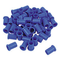 FloFit  Plastic Push-Fit Pipe Inserts 22mm 50 Pack