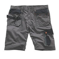 "Scruffs Trade Shorts Slate 36"" W"