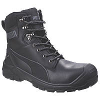 Puma Conquest Metal Free  Safety Boots Black Size 7