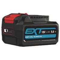 Erbauer EBAT18-Li-5 18V 5.0Ah Li-Ion EXT Battery