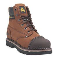 Amblers AS233   Safety Boots Brown Size 7