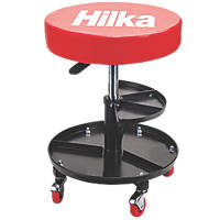 Hilka Pro-Craft Mechanics Seat with Storage 380 x 380mm