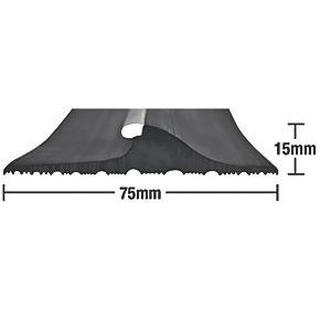 Stormguard Garage Threshold Seal Black 2 5m Seals