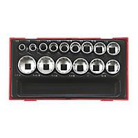 """Teng Tools TT1215AF 1/2"""" Drive Socket Set 15 Pieces"""