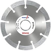 Marcrist WS650 Masonry Diamond Wall Chasing Blades 150 x 22.23mm 2 Pack