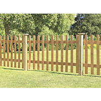 Forest Pale Fence Panels 6 x 3' Pack of 3