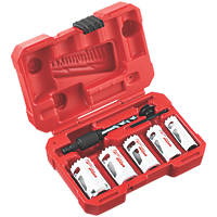 Milwaukee  Wood/Metal/Plastic Holedozer Holesaw Set 7 Pieces