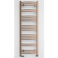 Terma Jade Designer Towel Rail 1149 x 400mm Copper