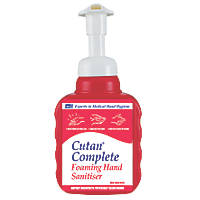 Cutan Complete Foam Sanitiser Pump 400ml