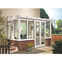 T2 Traditional uPVC Conservatory  2.53 x 18.6 x 2.33m