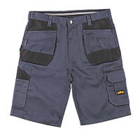 "Site Jackal Multi-Pocket Shorts Grey / Black 30"" W"