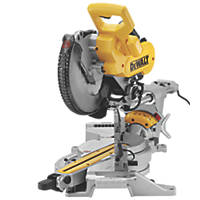 DeWalt DWS727-GB 250mm  Electric Double-Bevel Sliding Mitre Saw 240V
