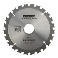 Erbauer TCT Saw Blade 165 x 30mm 24T