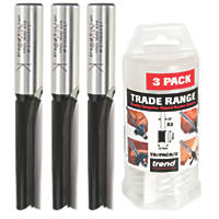 "Trend ½"" Shank Router Cutter Trade Pack 12.7 x 50mm 3 Pack"