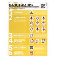 COSHH Regulations Poster 594 x 420mm