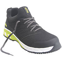 Site Realgar   Safety Trainers Black / Green Size 9