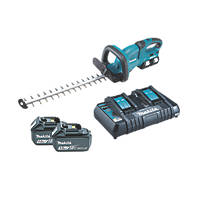 Makita DUH551PT2 55cm 36V 5.0Ah Li-Ion LXT  Cordless Hedge Trimmer