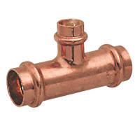 Conex Banninger B Press  Copper Press-Fit Reducing Tee 22 x 22 x 15mm 5 Pack